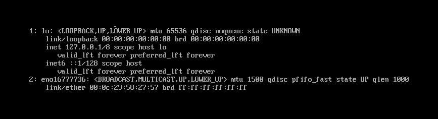 CentOS 7最小化安装后找不到'ifconfig'命令